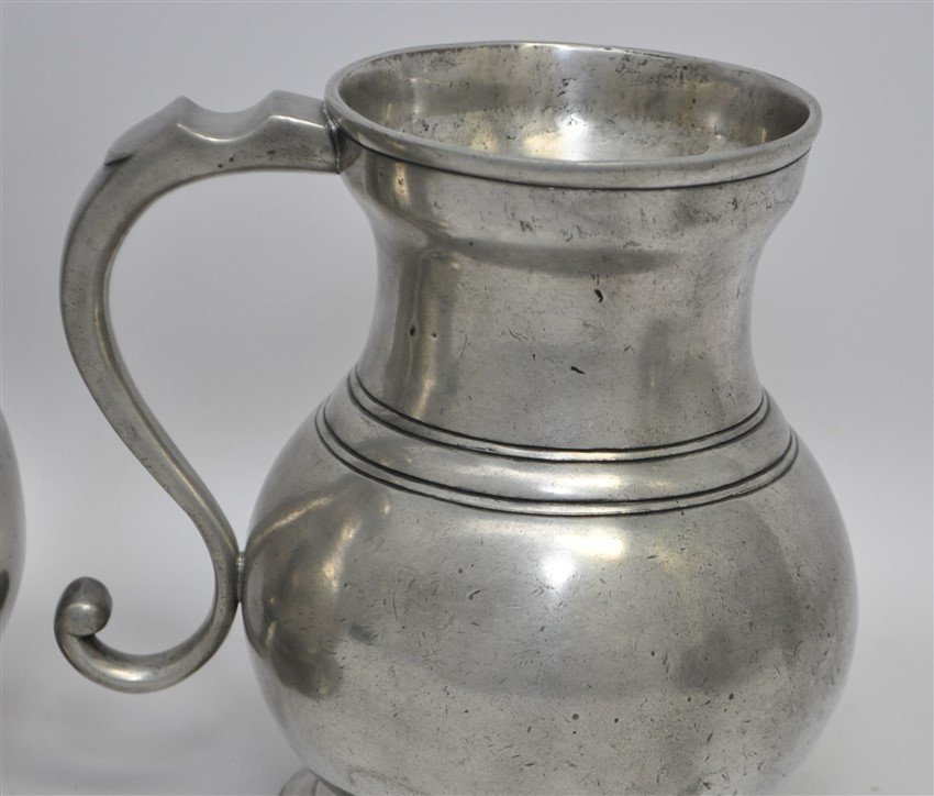 5 LES ETAINS DE PARIS PEWTER DRY MEASURES - 3