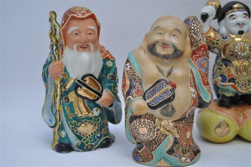 SET OF KUTANI 7 LUCKY GODS - SICHI FUKUJIN - 2