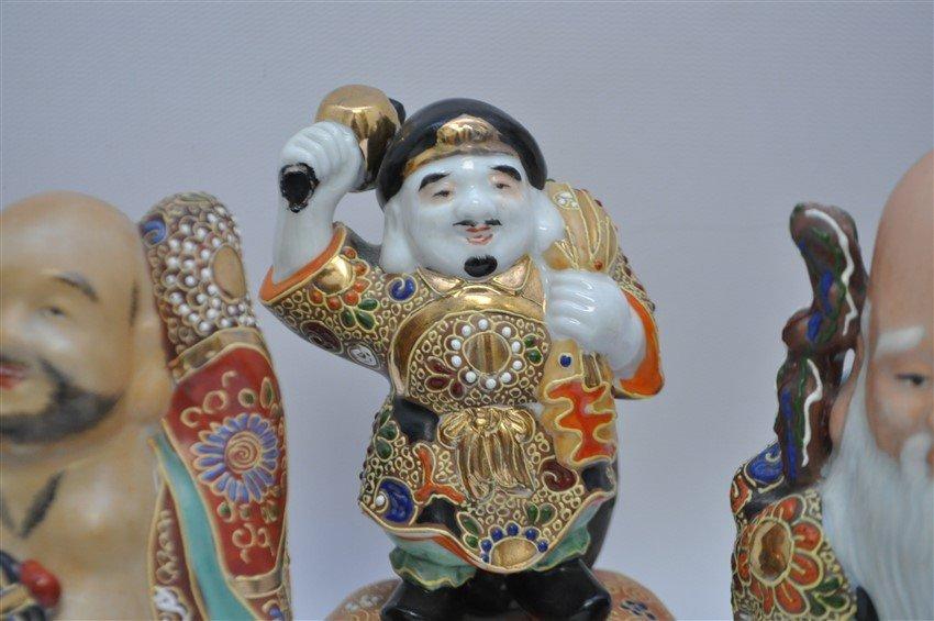 SET OF KUTANI 7 LUCKY GODS - SICHI FUKUJIN - 3