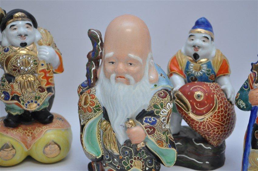 SET OF KUTANI 7 LUCKY GODS - SICHI FUKUJIN - 4