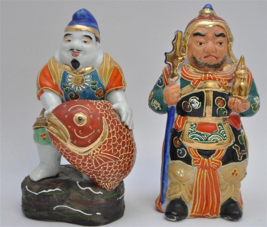 SET OF KUTANI 7 LUCKY GODS - SICHI FUKUJIN - 5