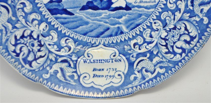 ENOCH WOODS 1825 AMERICAN INDEPENDENCE PLATE - 5