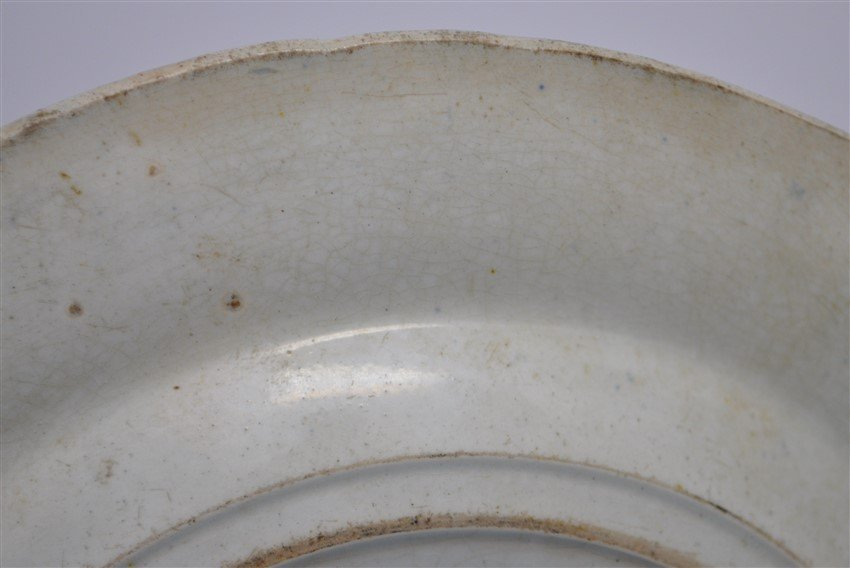 STAFFORDSHIRE C. 1809 BEEHIVE PLATE - 7
