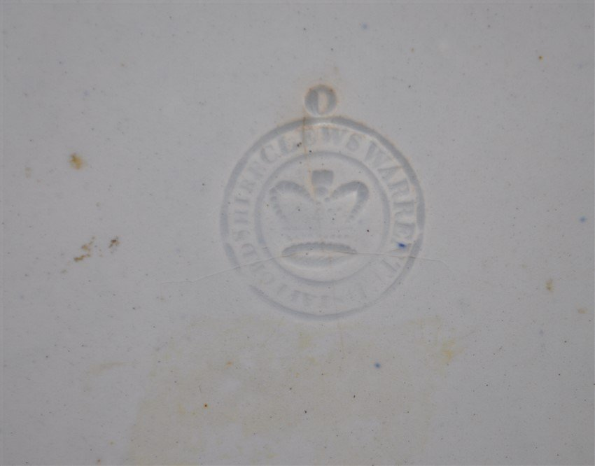 1820 AMERICA & INDEPENDENCE STAFFORDSHIRE PLATE - 8