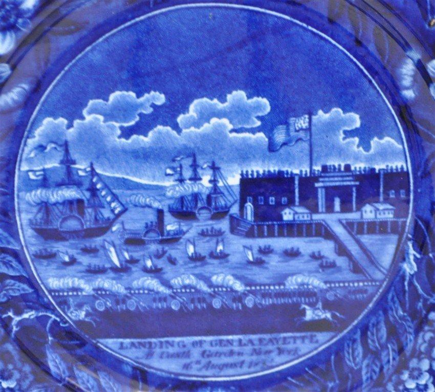 c 1824 LANDING OF GENERAL LAFAYETTE STAFFORDSHIRE - 2