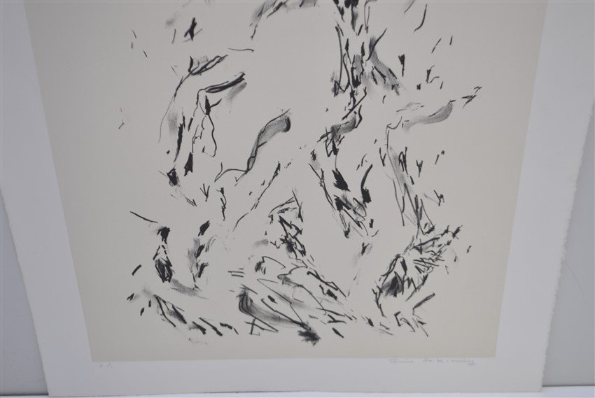 DE KOONING SIGNED ARTISTS PROOF LITHOGRAPH - 4