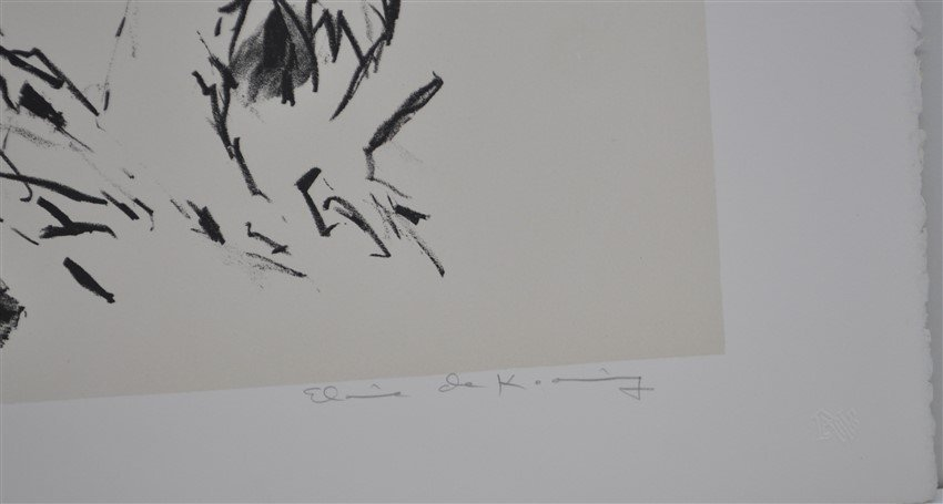 DE KOONING SIGNED ARTISTS PROOF LITHOGRAPH - 6
