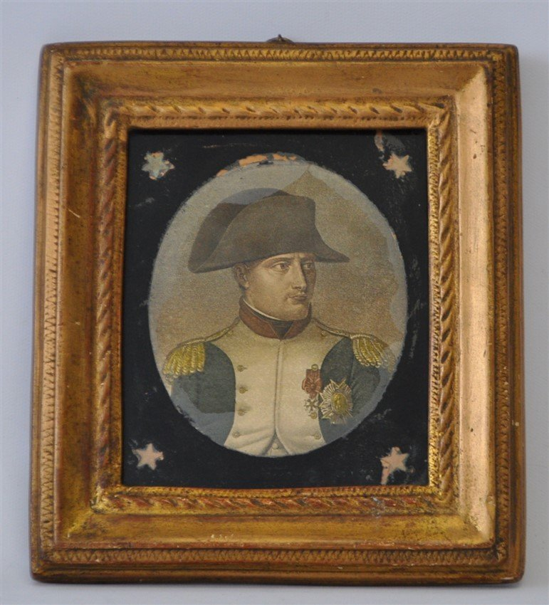BORGHESE FRAMED NAPOLEON - Hall house