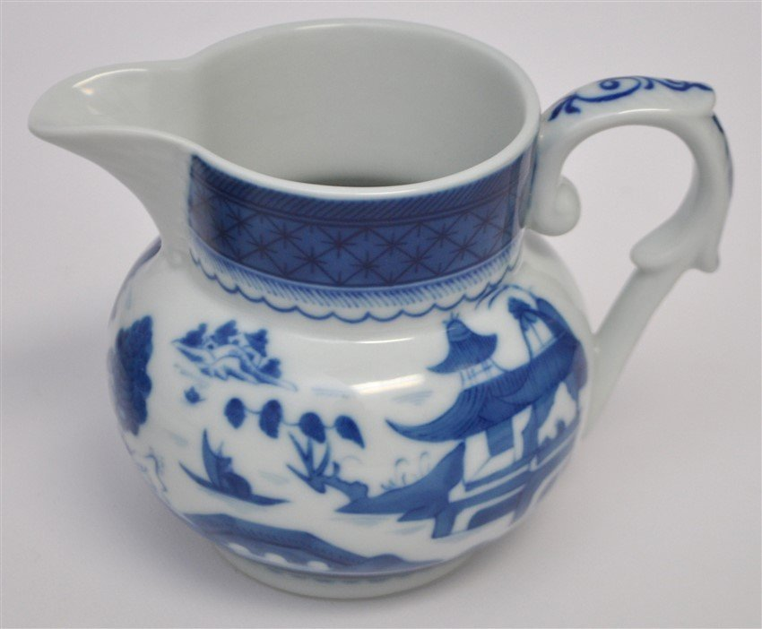 11 PC MOTTAHEDEH BLUE CANTON CHINA - 4