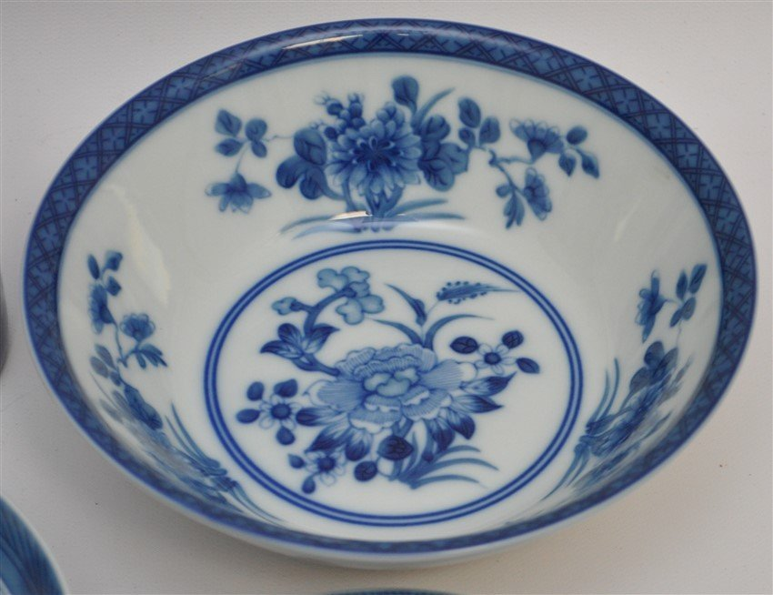 11 PC MOTTAHEDEH BLUE CANTON CHINA - 5