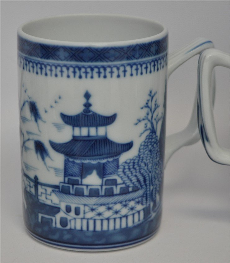 11 PC MOTTAHEDEH BLUE CANTON CHINA - 9