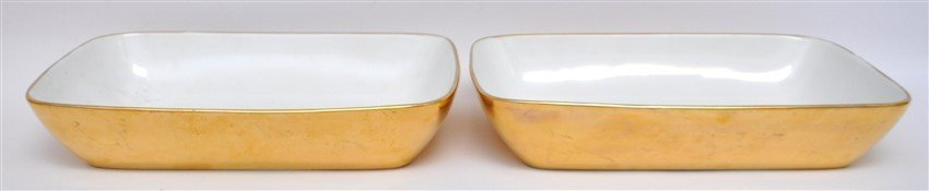 15 Pc ROYAL WORCESTER GOLD LUSTRE + - 4