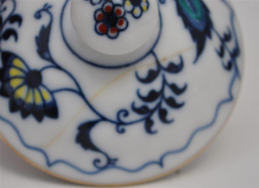 30 pc VINTAGE BLUE DANUBE INCL TEAPOT - 4