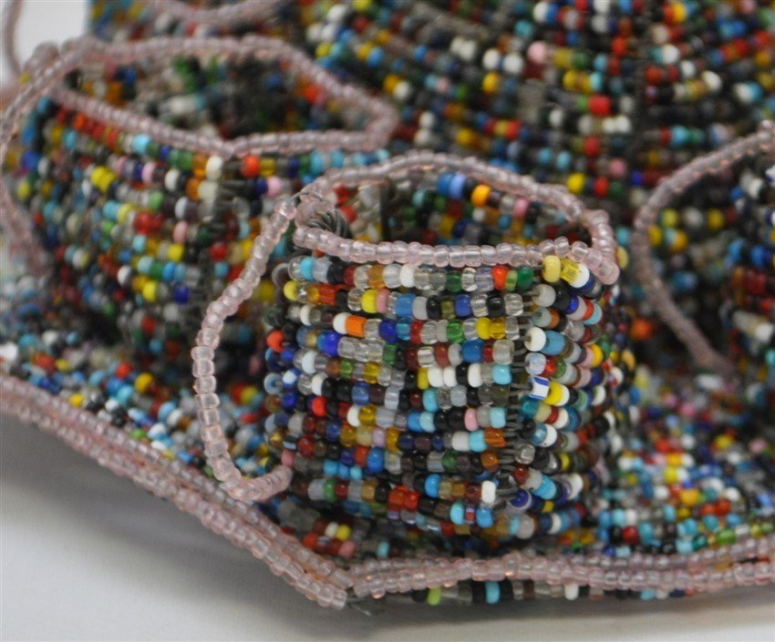 SOUTH AFRICAN BEADED DRINK SET - 3