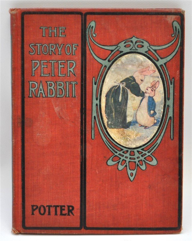 RARE 1908 THE STORY OF PETER RABBIT