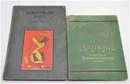 2 BOOKS SCRAMBLED EGGS & BROWNIES 1872