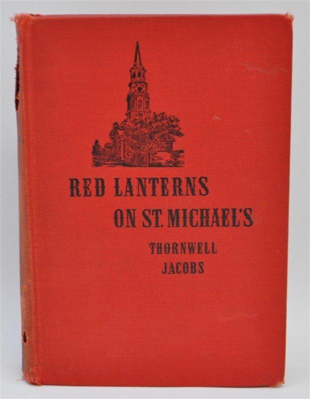 RED LANTERNS ON ST. MICHAEL'S