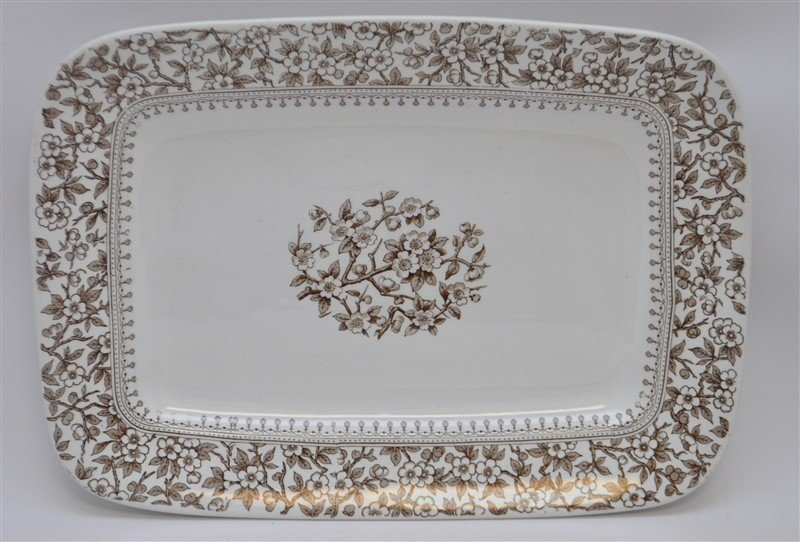 19TH c. FURNIVALS ALTON PLATTER
