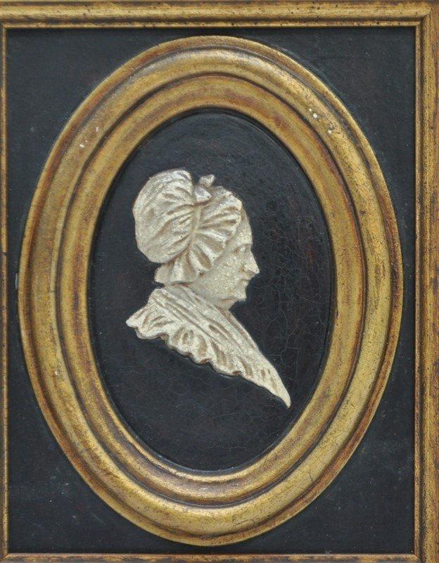 GEORGE & MARTHA WASHINGTON SILHOUETTES - 2