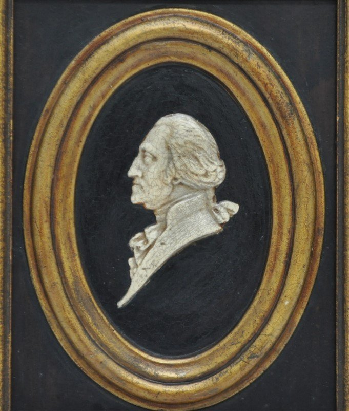 GEORGE & MARTHA WASHINGTON SILHOUETTES - 3