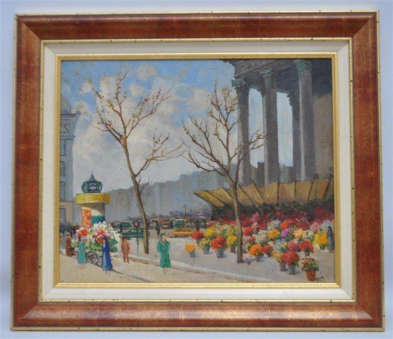 SERGE SEDRAC (1878-1974) EGLISE MADELEINE
