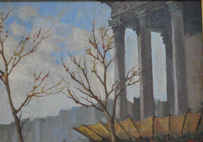 SERGE SEDRAC (1878-1974) EGLISE MADELEINE - 5