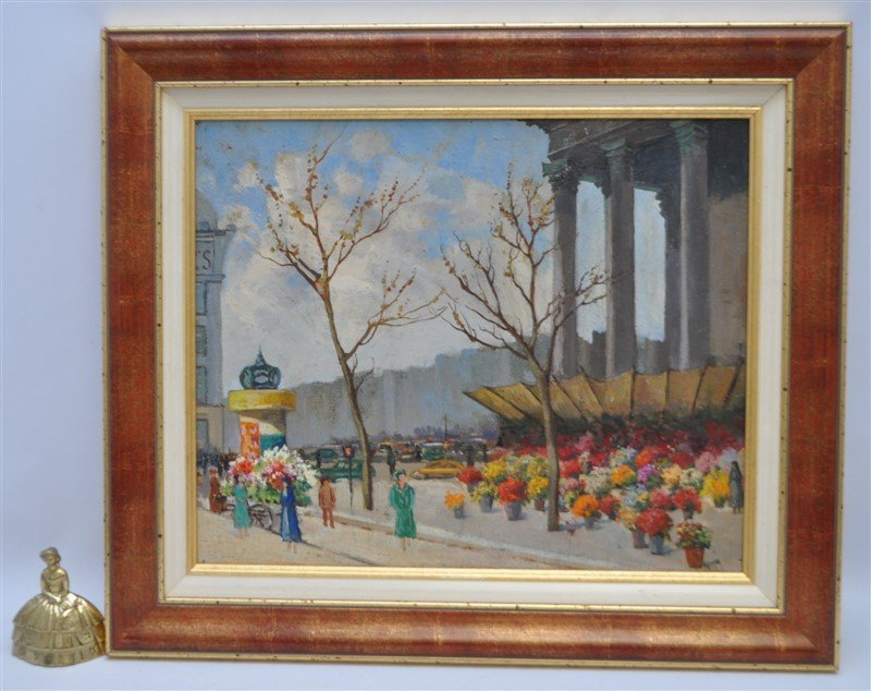 SERGE SEDRAC (1878-1974) EGLISE MADELEINE - 8