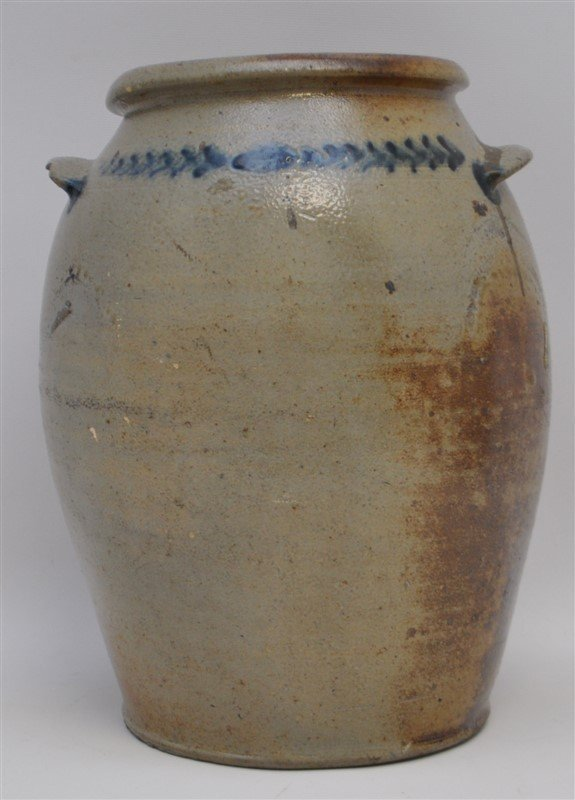 BALTIMORE STONEWARE JAR C. 1820