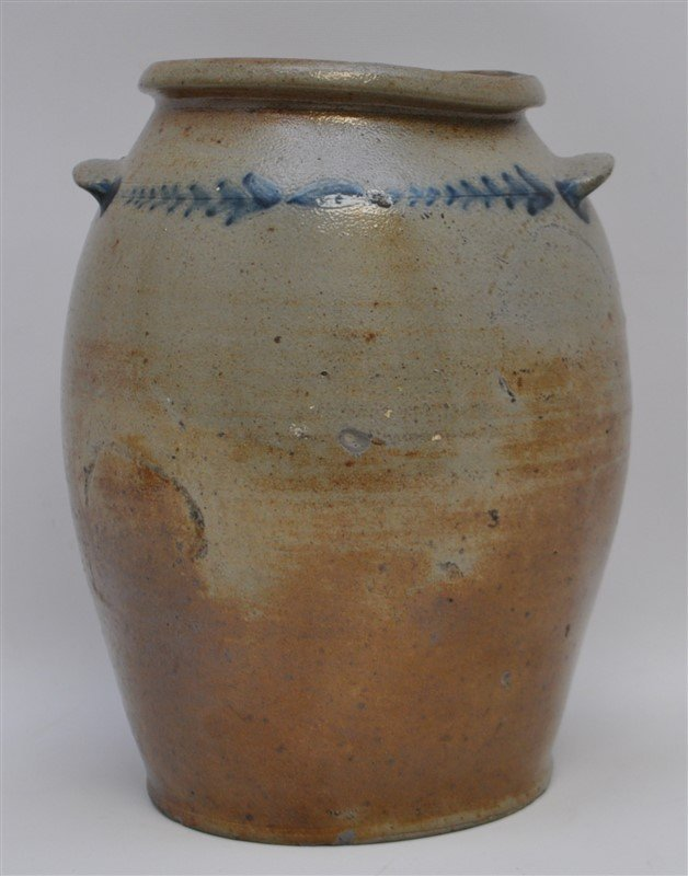 BALTIMORE STONEWARE JAR C. 1820 - 4
