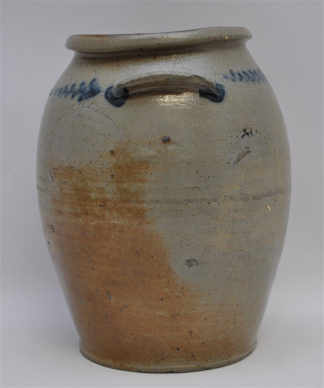 BALTIMORE STONEWARE JAR C. 1820 - 5