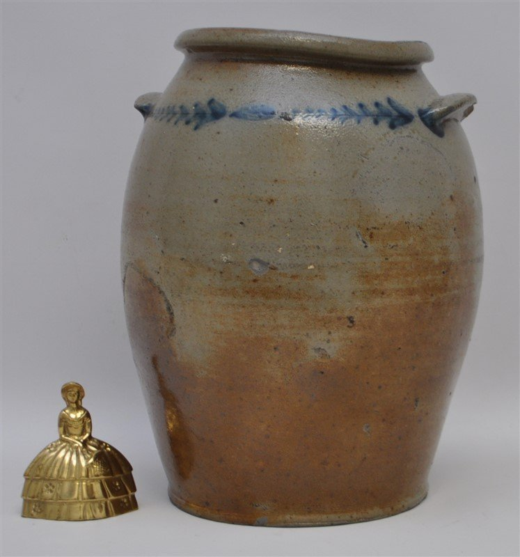 BALTIMORE STONEWARE JAR C. 1820 - 9