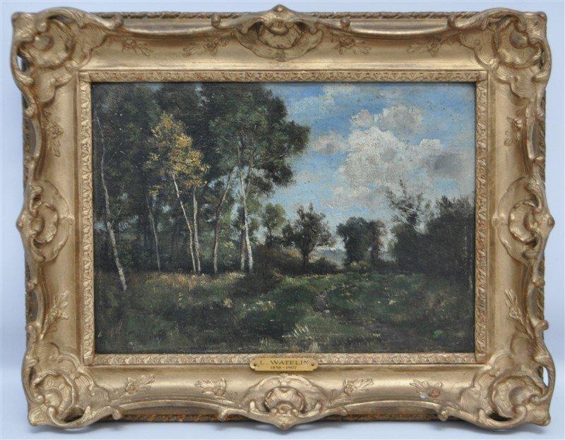 LOUIS FRANCOIS VICTOR WATELIN (1838-1907) OIL