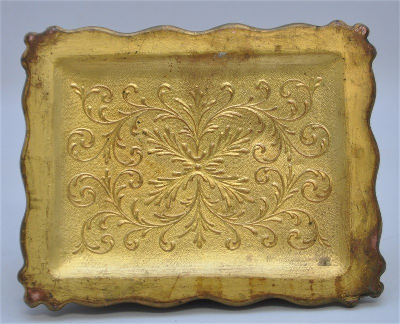 ART NOUVEAU GILDED BRONZE JEWELRY BOX - 6