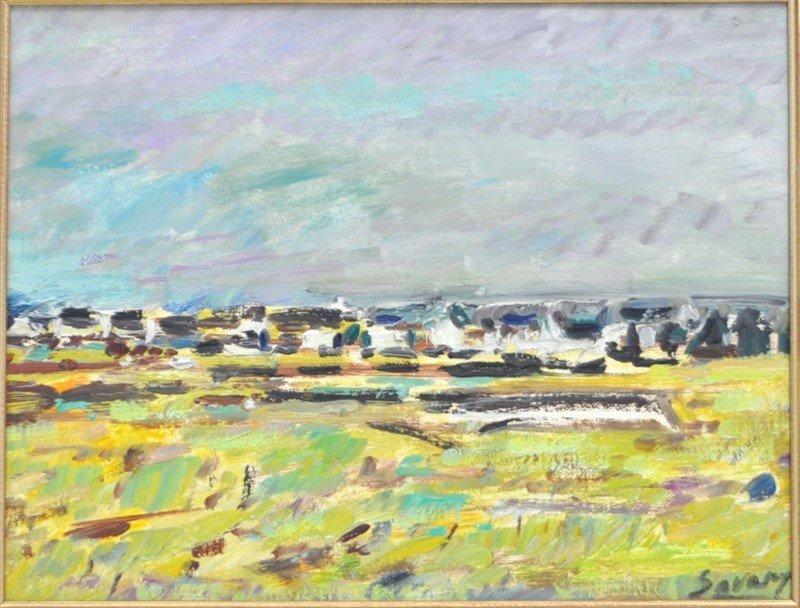 MAURICE ROBERT SAVARY (1920-2000) BRETAGNE - 2