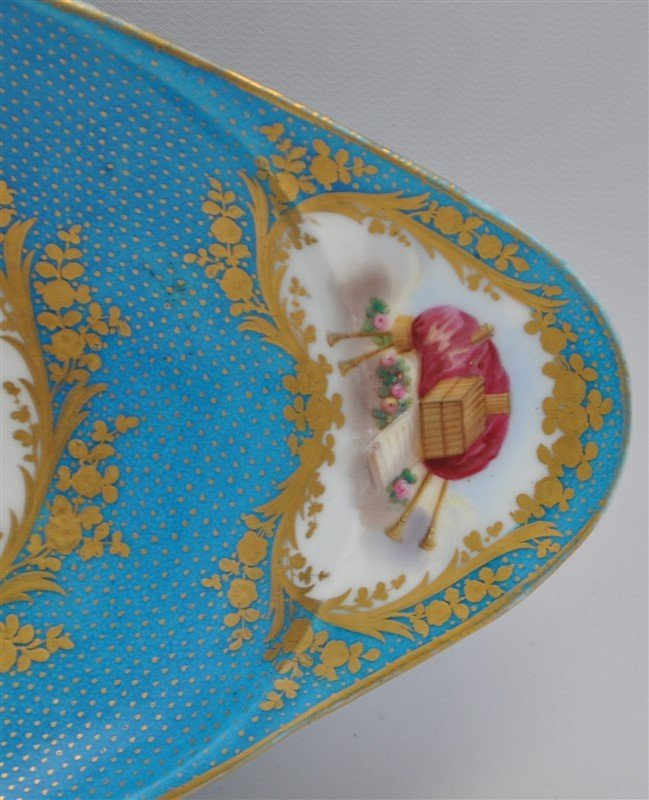 SEVRES PORCELAIN HAND PAINTED BOWL - 3