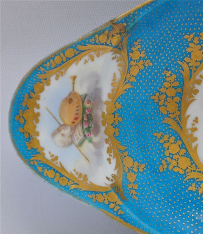 SEVRES PORCELAIN HAND PAINTED BOWL - 4