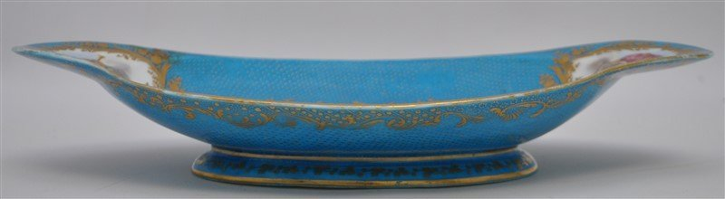 SEVRES PORCELAIN HAND PAINTED BOWL - 6