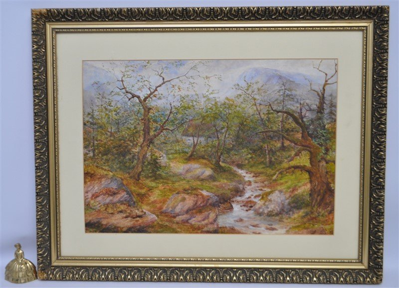 HENRY PEACH ENGLISH WATERCOLOR - 10