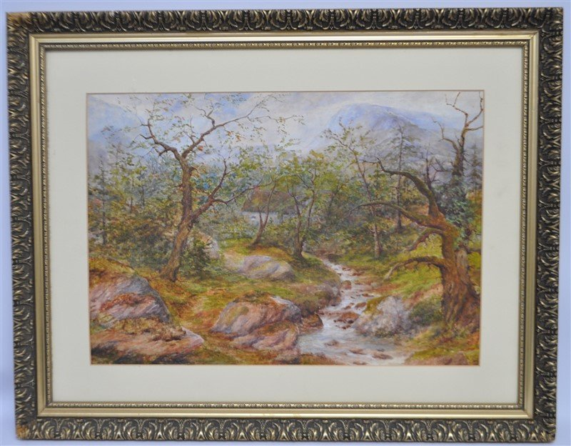 HENRY PEACH ENGLISH WATERCOLOR