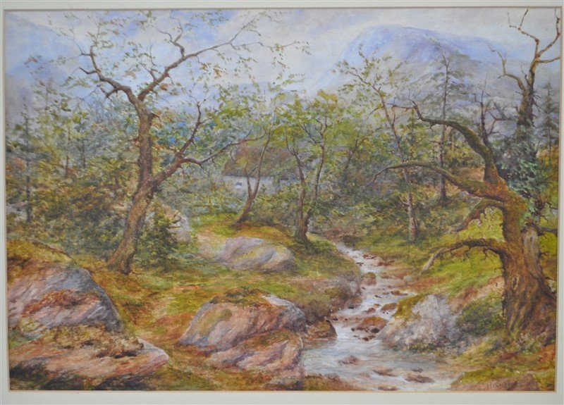 HENRY PEACH ENGLISH WATERCOLOR - 2