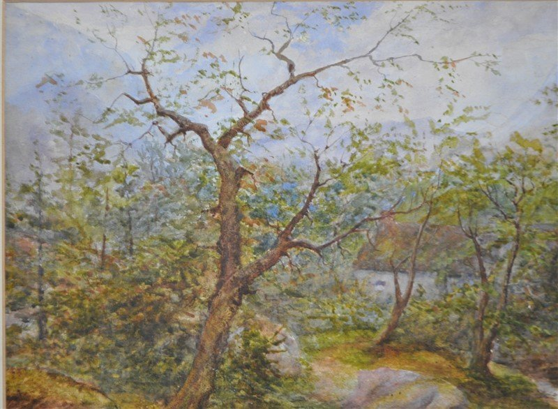 HENRY PEACH ENGLISH WATERCOLOR - 4