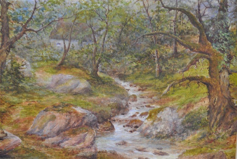 HENRY PEACH ENGLISH WATERCOLOR - 5