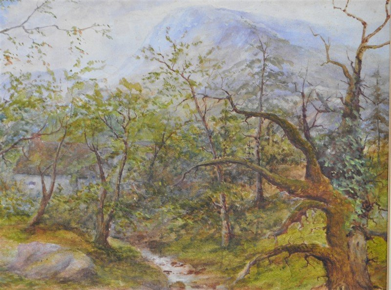 HENRY PEACH ENGLISH WATERCOLOR - 6
