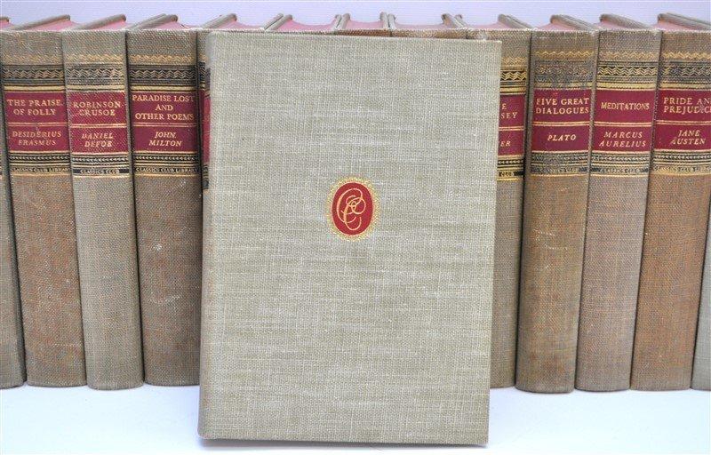 19 VOLUMES CLASSICS CLUB BOOKS - 4
