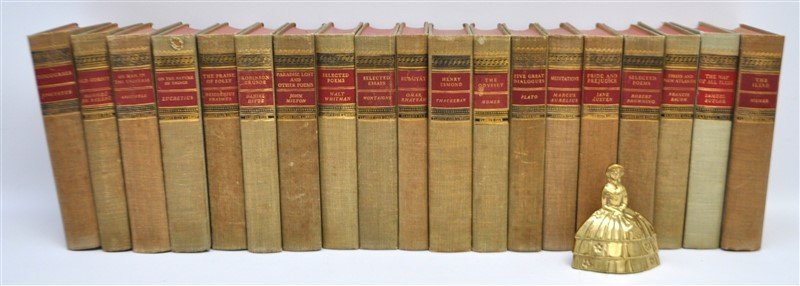 19 VOLUMES CLASSICS CLUB BOOKS - 8