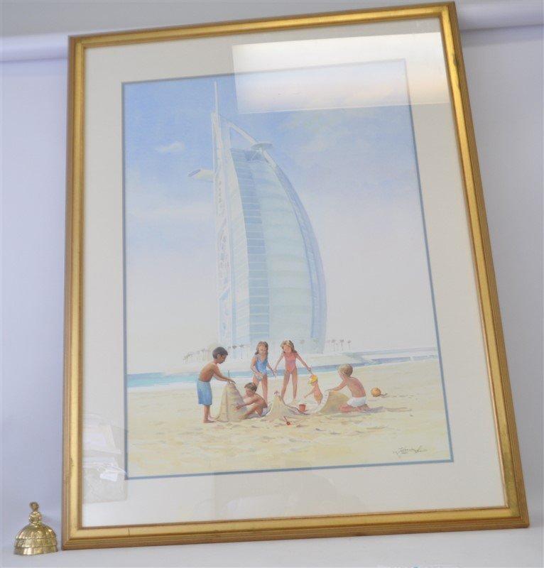 ORIGINAL MATSENKO WATERCOLOR DUBAI - 7
