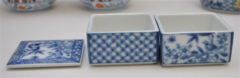 4 pc JAPANESE JUBAKO AND POTS - 3