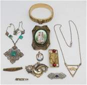 10 pc VICTORIAN  EDWARDIAN JEWELRY