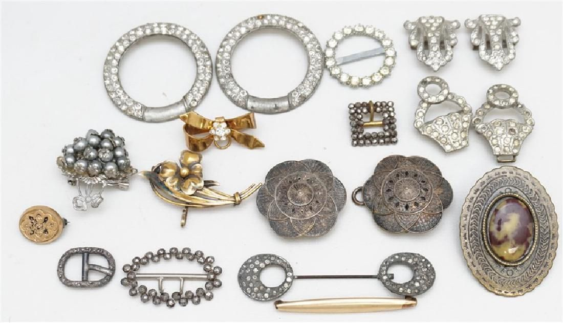 15 pc VICTORIAN / EDWARDIAN JEWELRY LOT