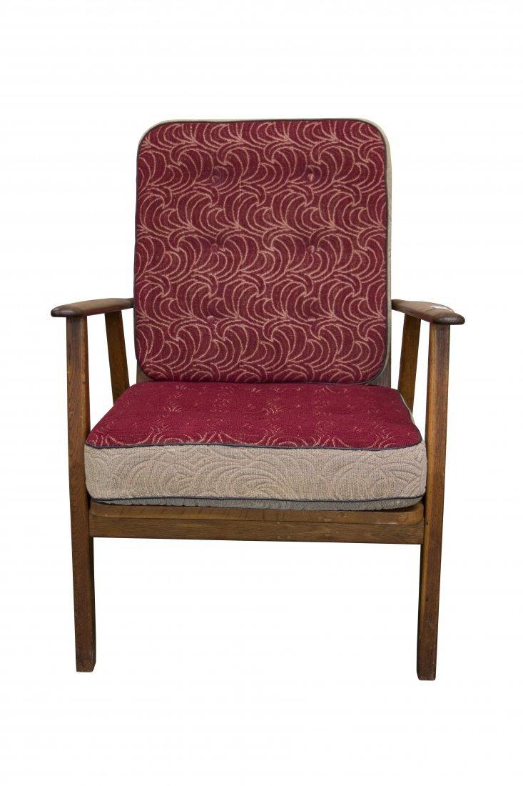 Danish Modern Teak Lounge Chair
